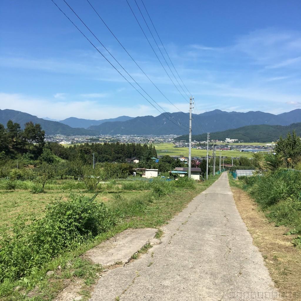 長野県上田市の松茸小屋「二幸園」