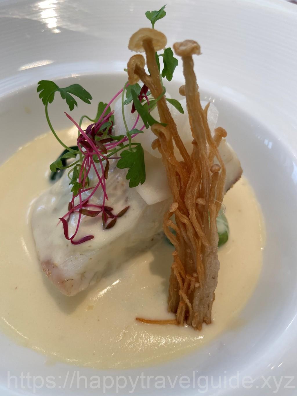リストランテマンジャーレ千葉のランチ魚