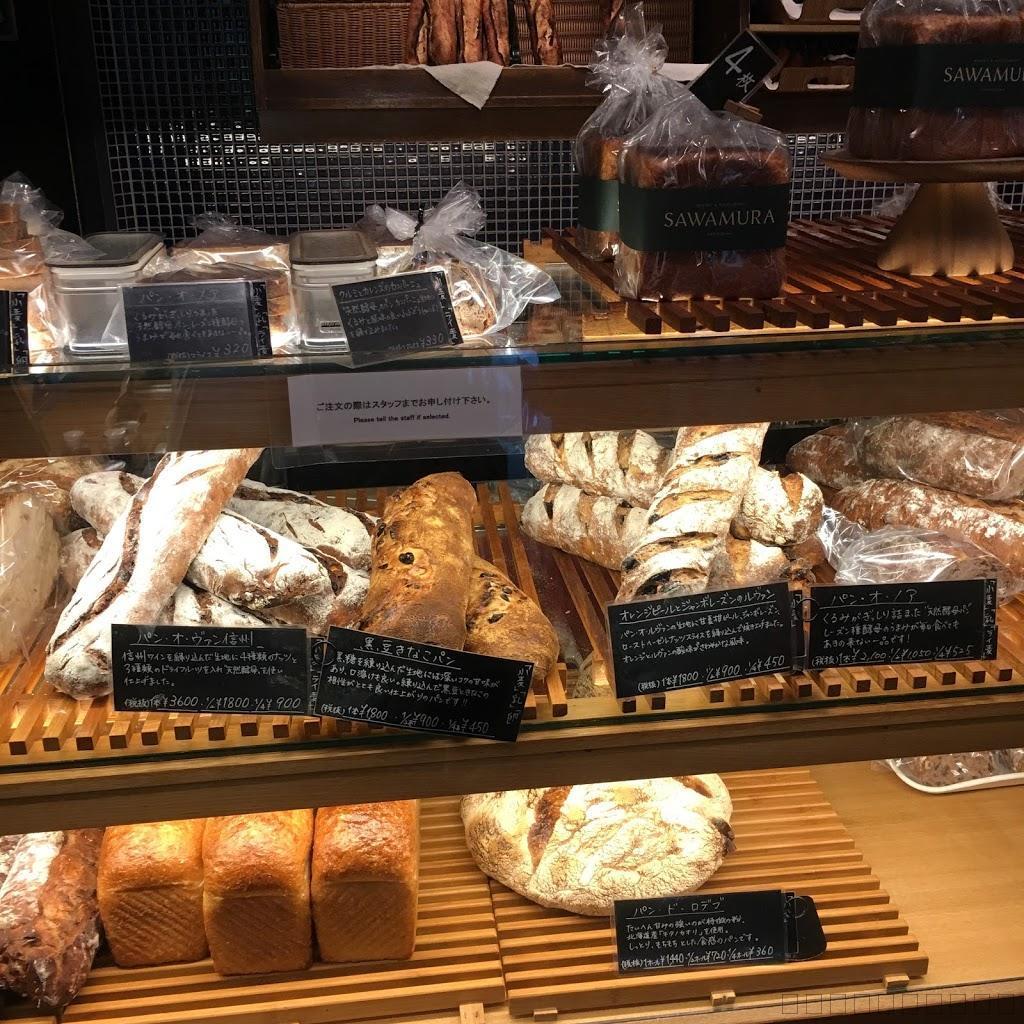 軽井沢の星野リゾートのパン