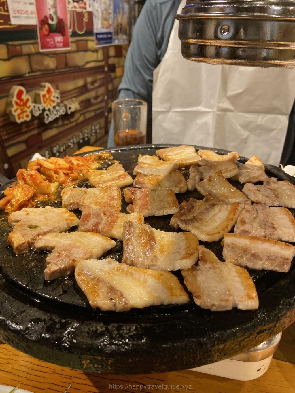 新大久保の韓国料理とんちゃん
