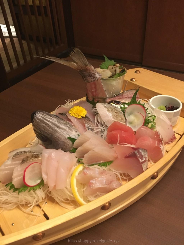 南房総岩井湯本温泉の網元の宿「ろくや」旅館の食事