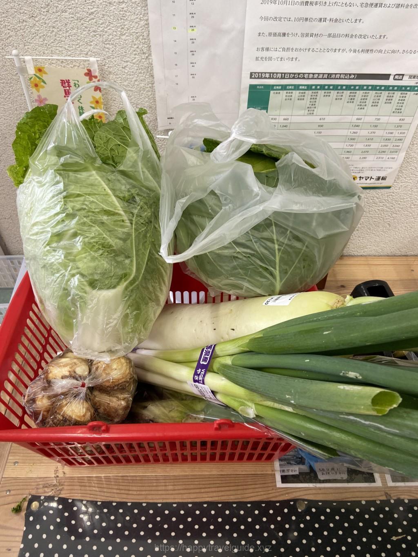 道の駅八ッ場 新鮮野菜