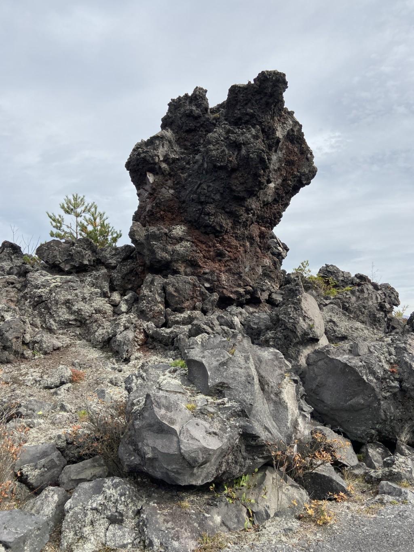 鬼押し出し園 奇岩
