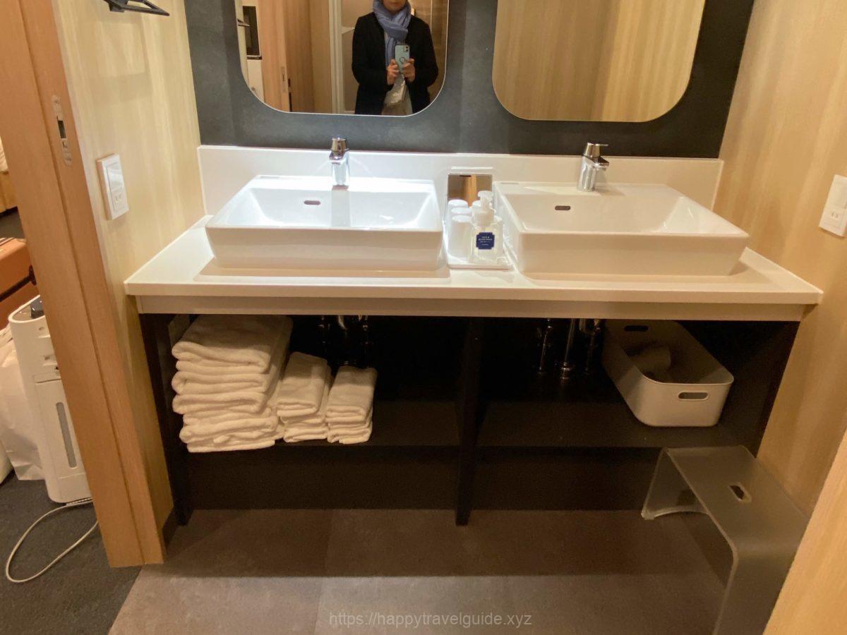 洗面台は2カ所