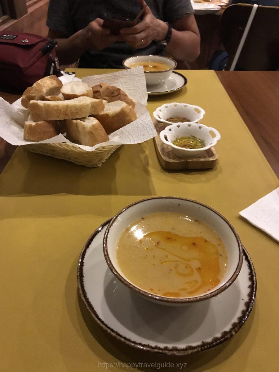 カッパドキアでの夕食