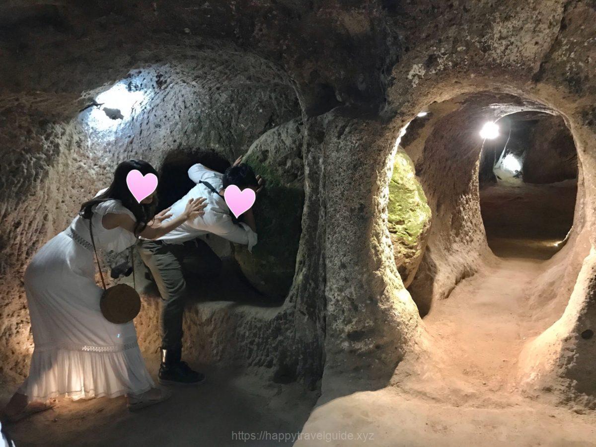 ッパドキア最大規模の地下都市