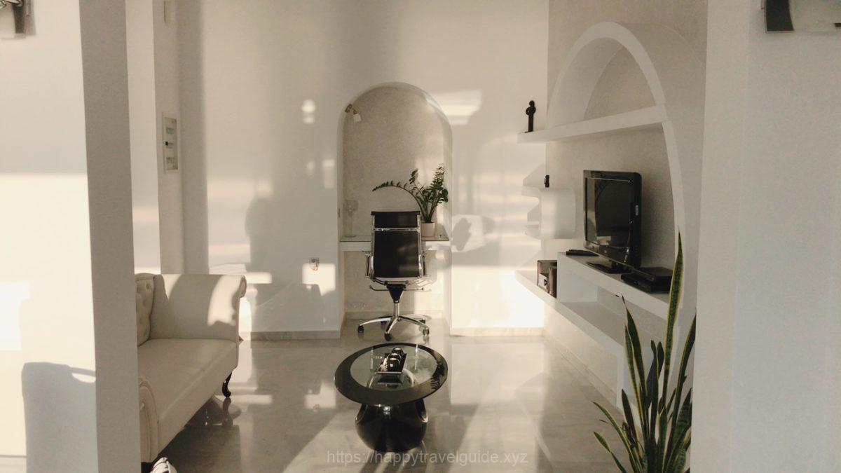 Anastasis Apartmentsリビングルーム
