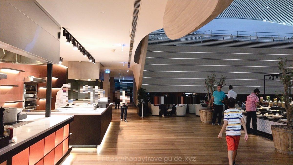 新イスタンブール空港のビジネスラウンジ