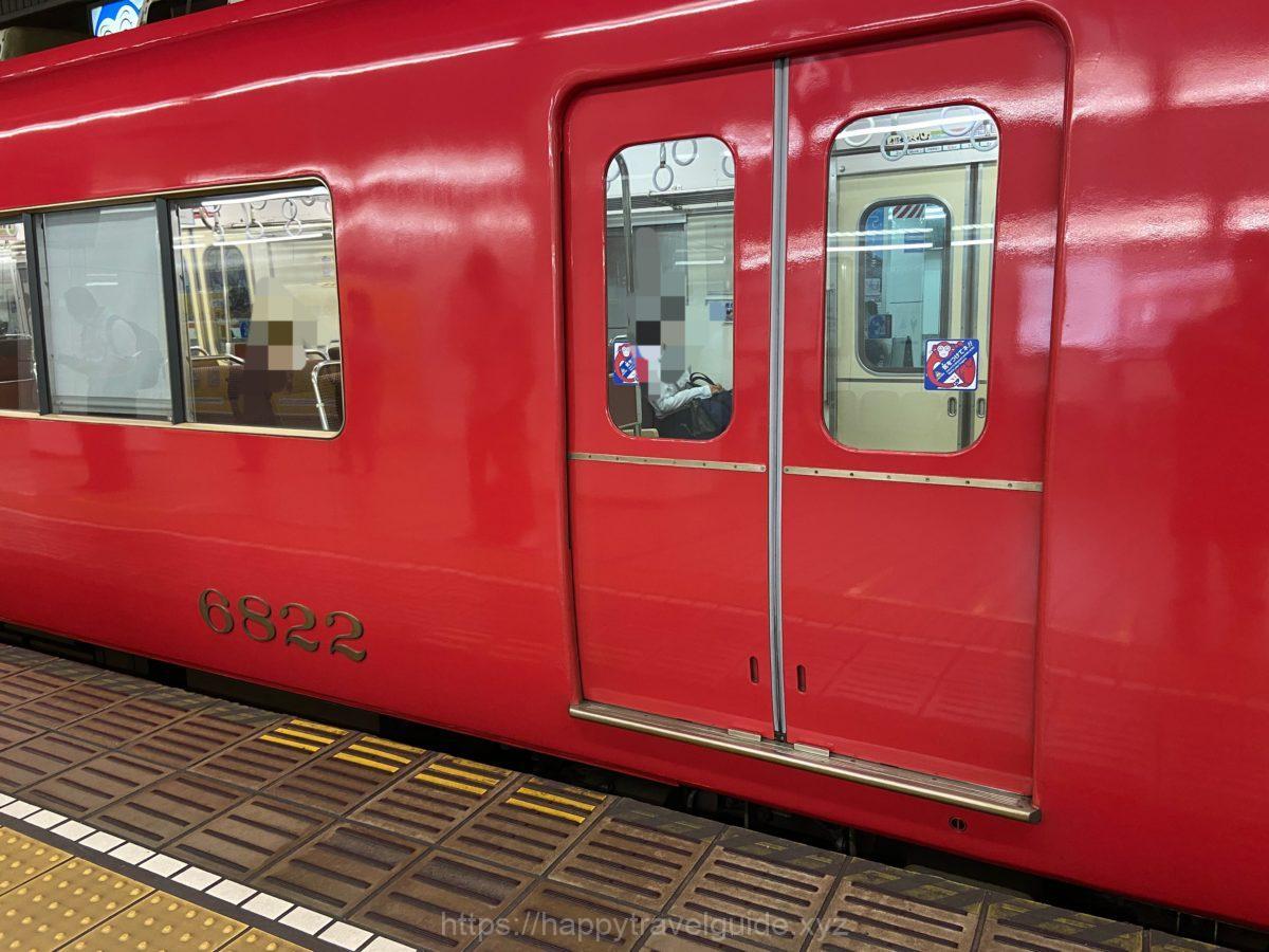 名鉄 赤い電車