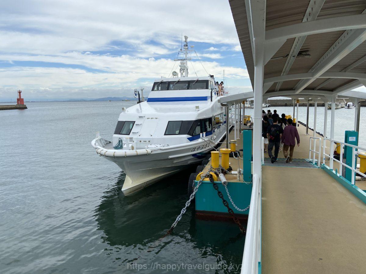 日間賀島 観光船