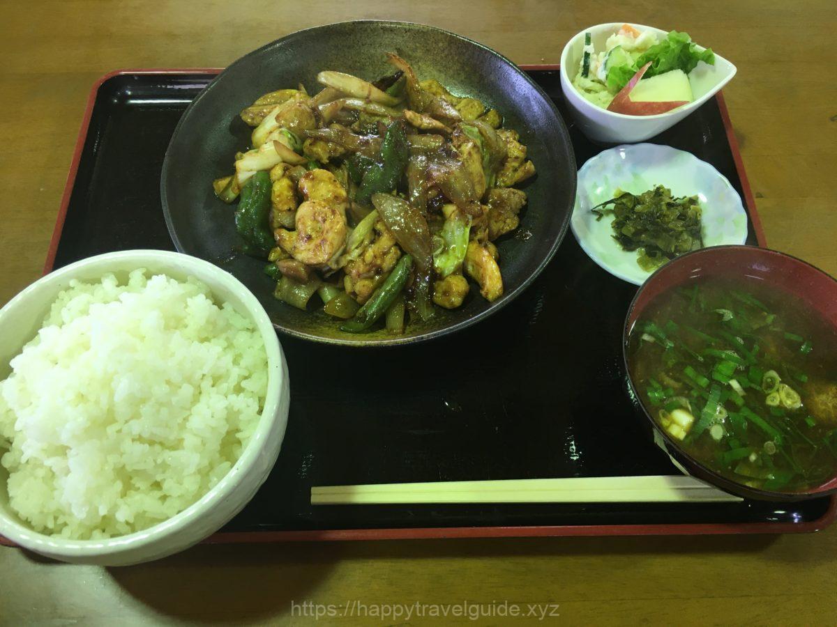 鶏ちゃん定食