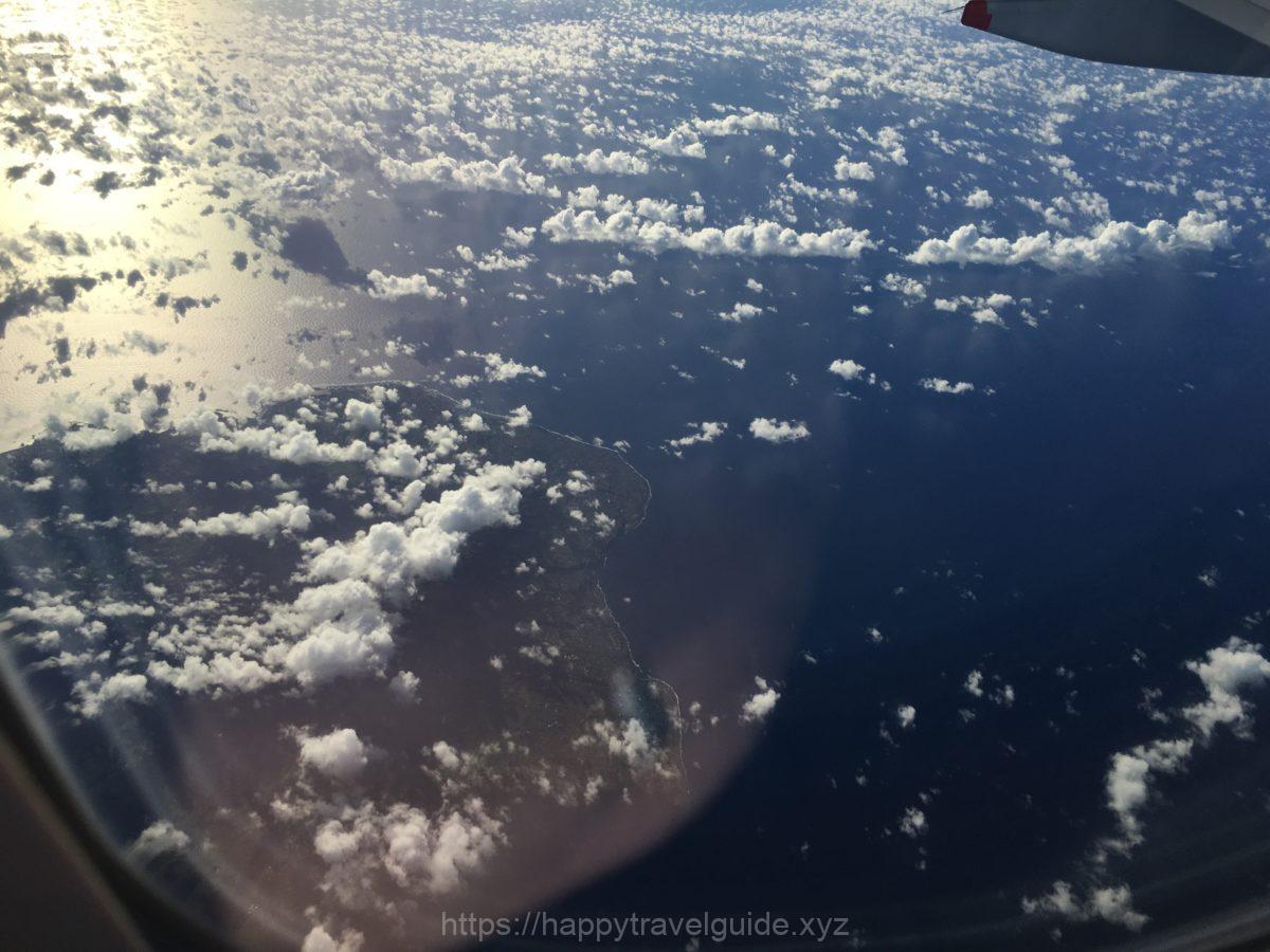 機内から 離島
